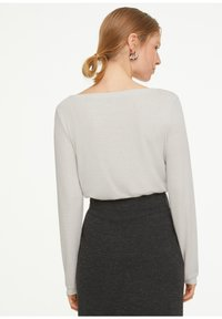 comma casual identity - Long sleeved top - white - 5