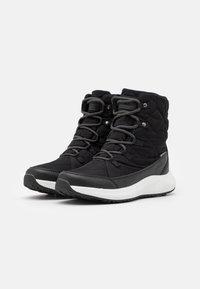 Hi-Tec - QUILTY WP - Zimní obuv - black/white - 1