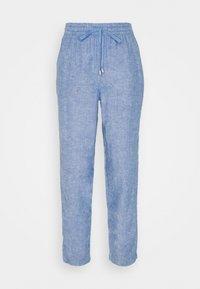 Marks & Spencer London - CHAMB - Pantalon classique - blue - 0