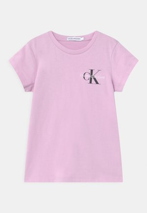 CHEST MONOGRAM - Camiseta básica - purple