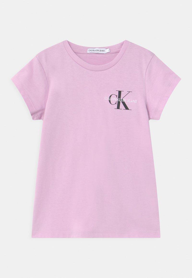 Calvin Klein Jeans - CHEST MONOGRAM - T-shirt basic - purple