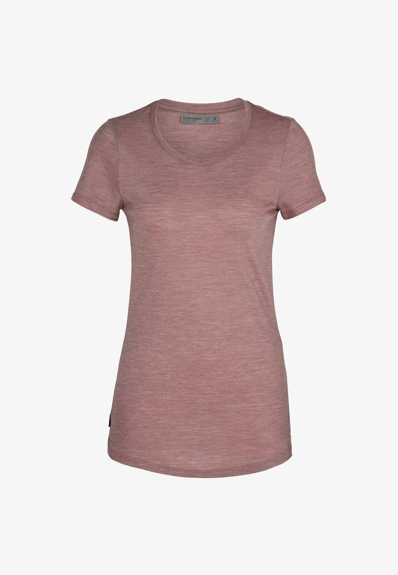 Icebreaker - W SPHERE  - Basic T-shirt - suede