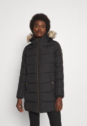 INSULATED COAT - Down coat - black