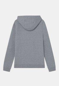 Nike Sportswear - REGRIND UNISEX - Jersey con capucha - obsidian/dark smoke grey - 1