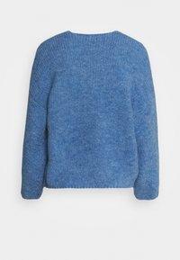 Lindex - CARDIGAN VANESSA - Cardigan - light dusty blue - 1