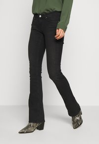 ONLY - Vaqueros pitillo - black denim - 0