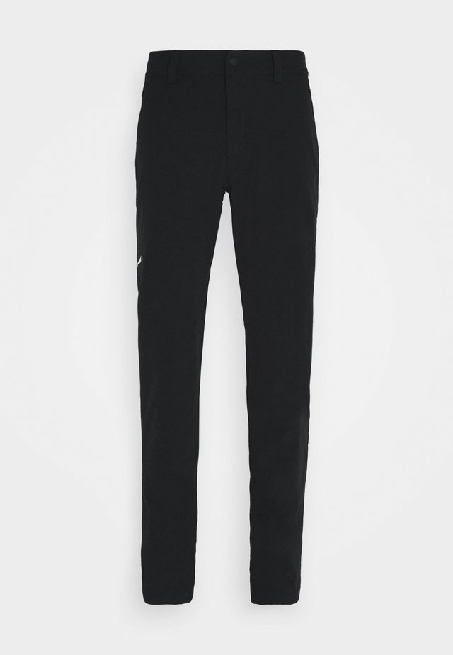 VEZZANA - Trousers - black out