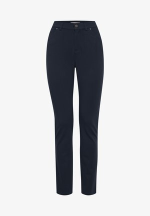 FRLEBUX - Trousers - dark peacoat