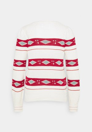 ROMBOS - Jumper - white