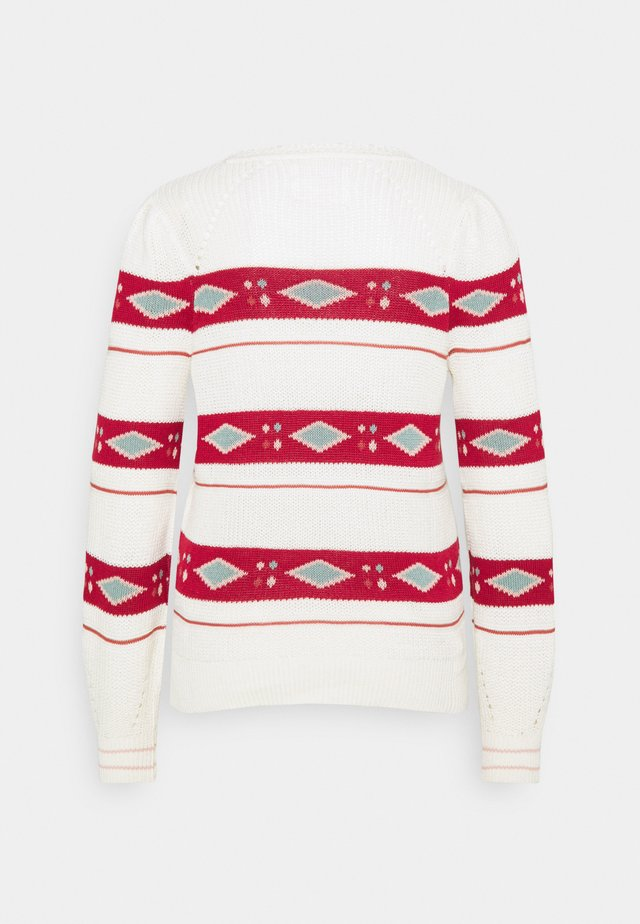ROMBOS - Maglione - white