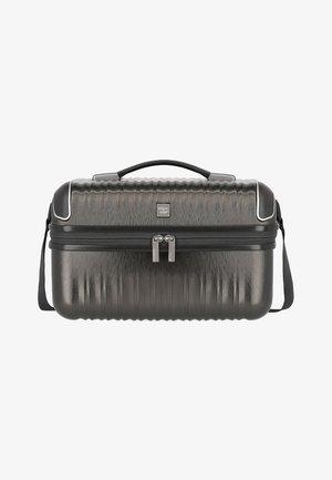 Wash bag - anthra metallic