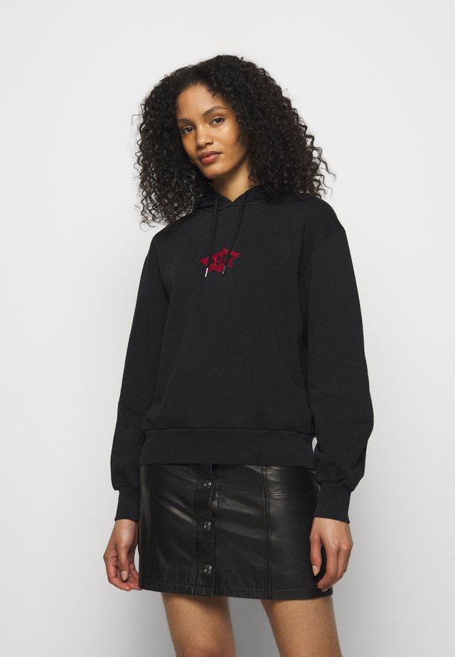 BULKY HOODIE - Sweatshirt - faded black