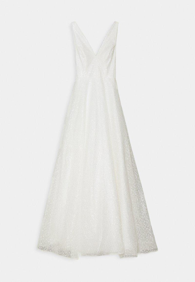 YAS - YASSINGER STRAP DRESS - Společenské šaty - star white