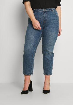 VMBRENDA STRAIGHT - Straight leg jeans - dark blue denim