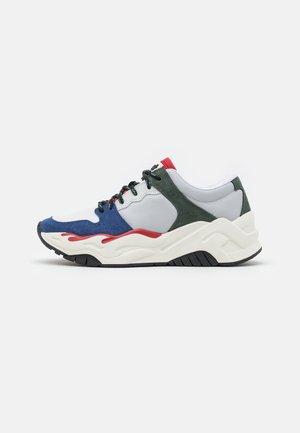 Sneakers laag - true navy/pompeian red/dark forest/nimbus grey