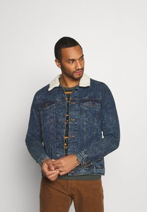 DAMIEN - Denim jacket - dark blue