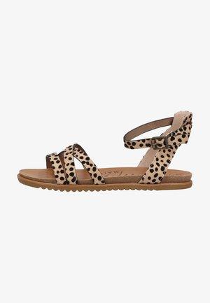 Sandals - sand pixie leopard