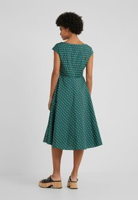 WEEKEND MaxMara - PIREO - Day dress - dark green/white/black - 2