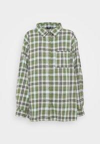 Cotton On - BOYFRIEND - Button-down blouse - jennifer forest green - 0
