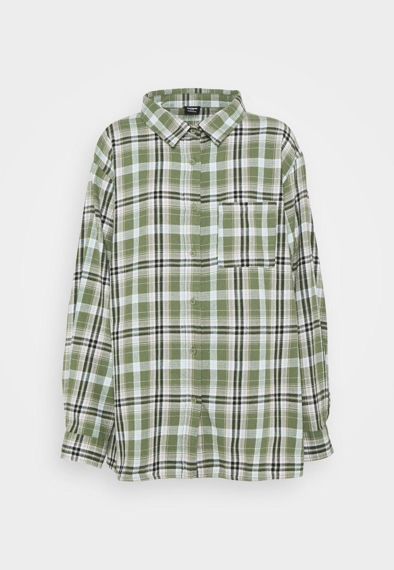 Cotton On - BOYFRIEND - Button-down blouse - jennifer forest green