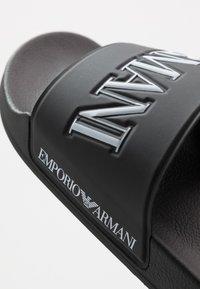 Emporio Armani - Mules - black/white - 6