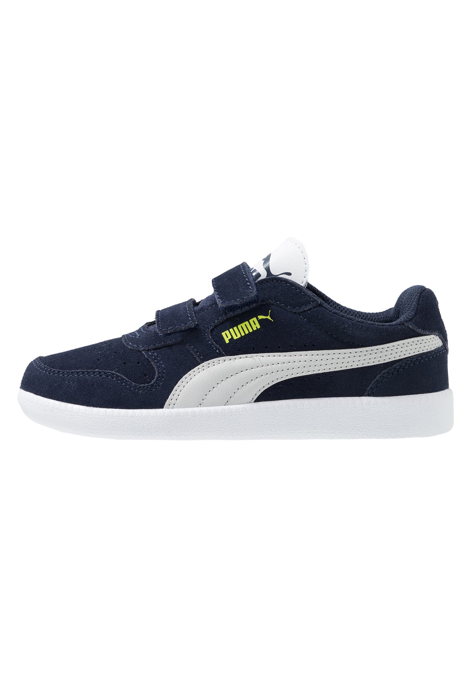 ICRA TRAINER - Baskets basses - peacoat/gray violet/nrgy yellow/white