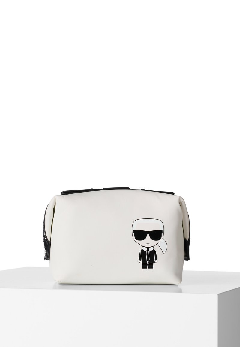 KARL LAGERFELD - Wash bag - white