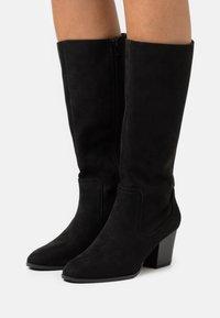 Head over Heels by Dune - SELLBY - Kozaki - black - 0