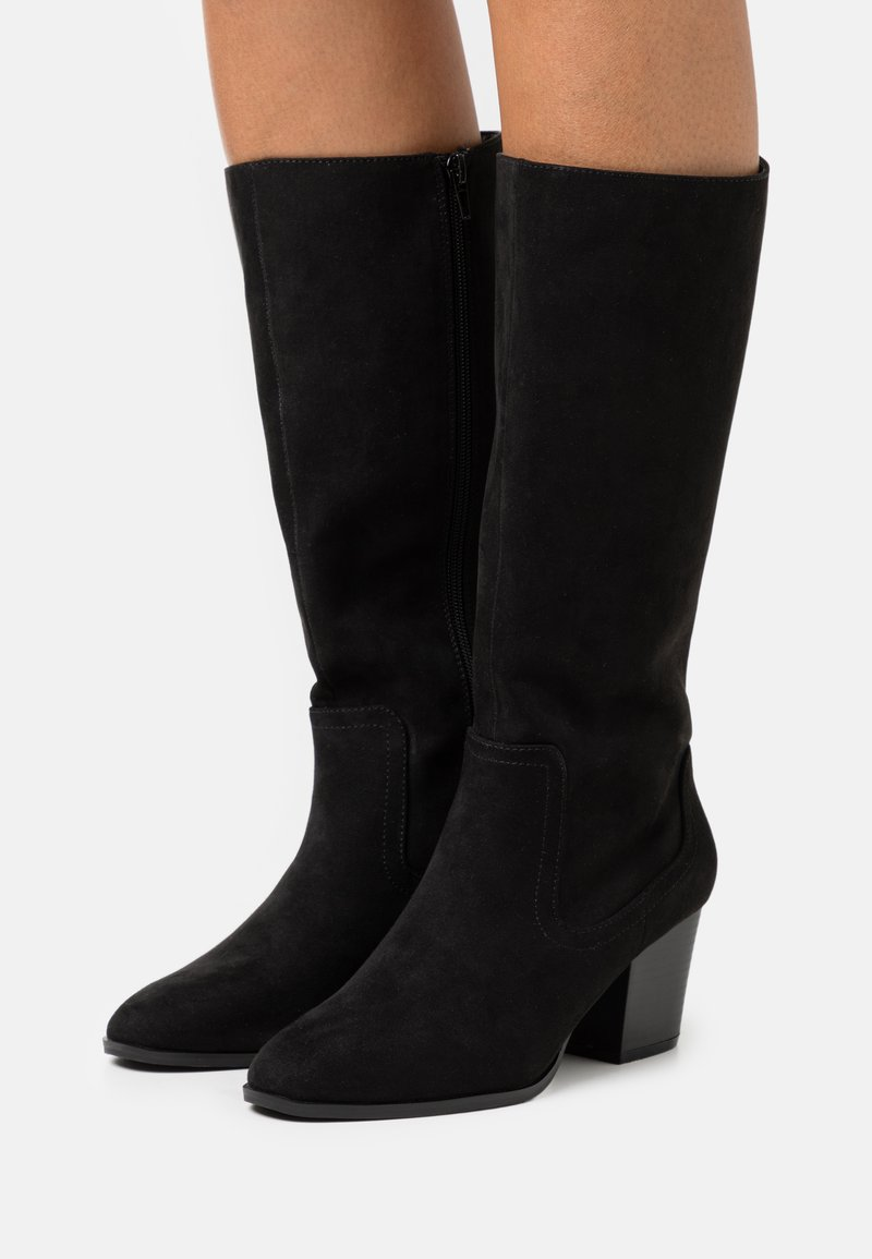 Head over Heels by Dune - SELLBY - Kozaki - black