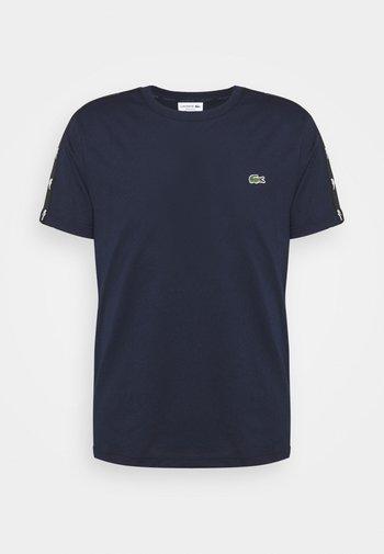 T-shirts print - navy blue/black