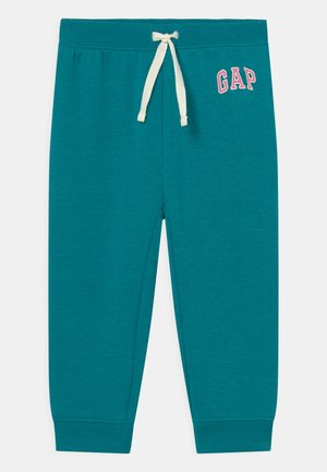 LOGO - Trousers - bright peacock