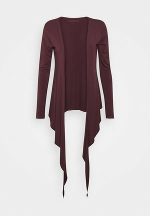 WRAP - Long sleeved top - bordeaux
