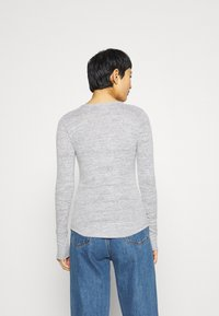 Abercrombie & Fitch - COZY HENLEY  - Long sleeved top - grey - 2