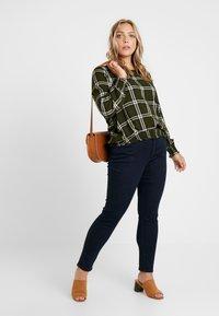 MY TRUE ME TOM TAILOR - BASIC - Jeans Skinny Fit - dark blue denim - 1