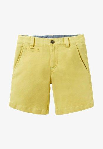 Shorts - ananasgelb