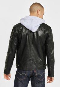Gipsy - RYLO LAKEV - Leather jacket - black - 2