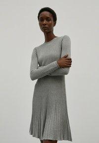 EDITED - Jumper dress - graumeliert - 0