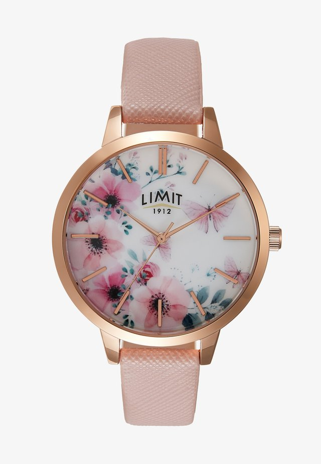 SECRET GARDEN LADIES WATCH FLOWERS - Klokke - rose