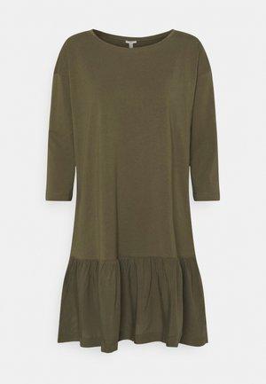 Vestito di maglina - khaki green