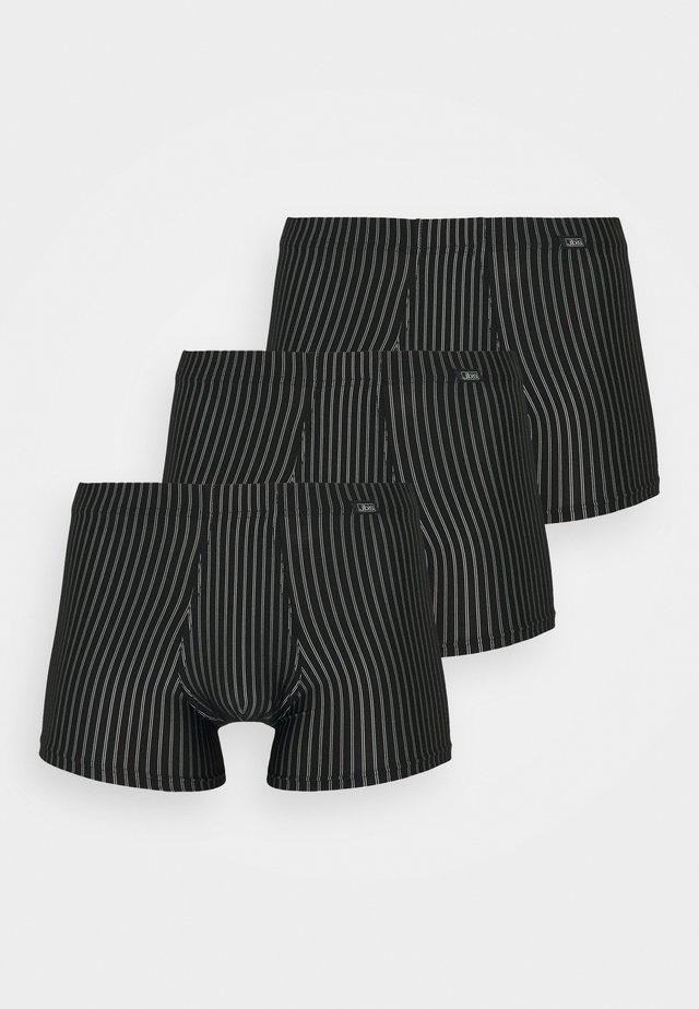 3 PACK - Underbukse - schwarz