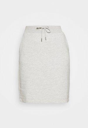 SLFFREDEE SKIRT  - Mini skirt - light grey melange
