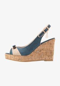 Laura Biagiotti - High heeled sandals - blue - 1