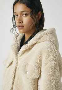 PULL&BEAR - Zimní bunda - beige - 4