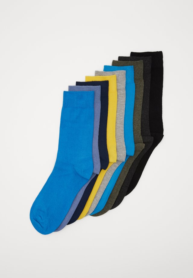 UNISEX 9 PACK - Socks - turquoise