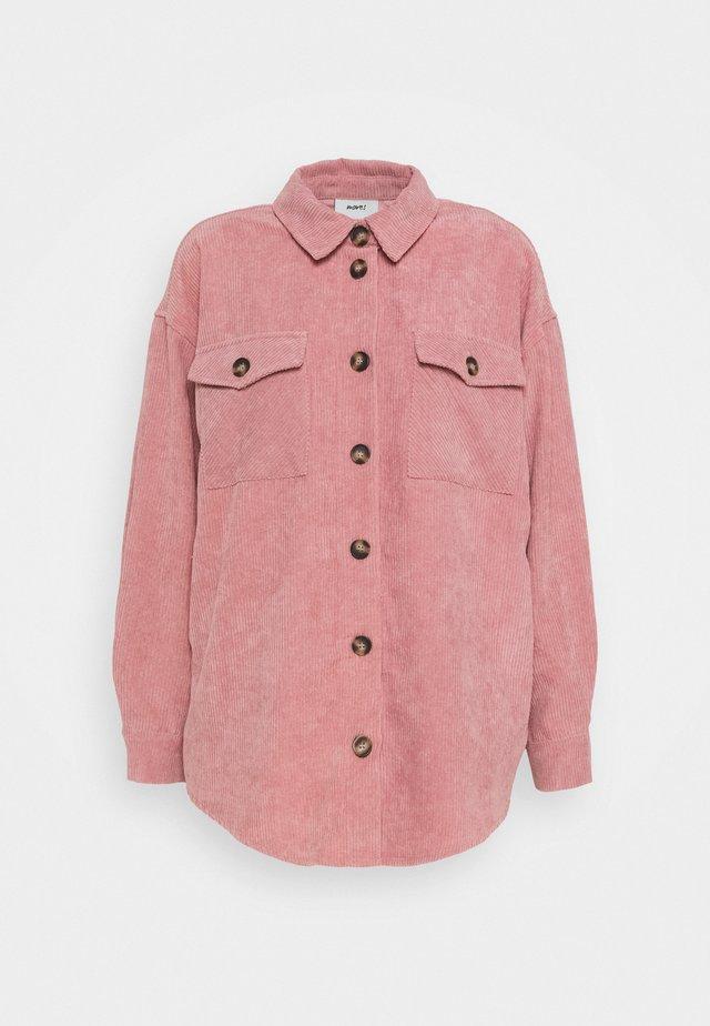 SAVISA - Button-down blouse - rose dust