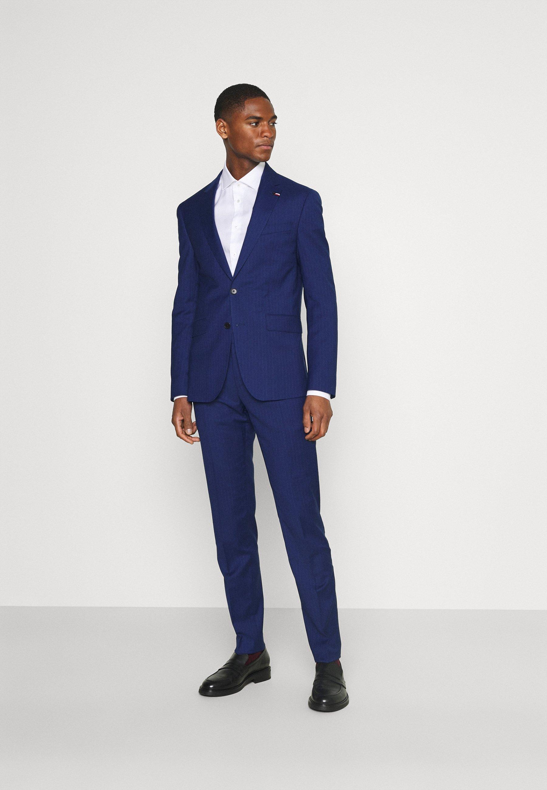 Homme FLEX STRIPE SLIM FIT SUIT SET - Costume