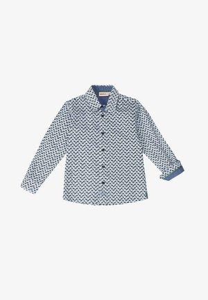 BOY'S MICRO-PRINT - Overhemd - blue