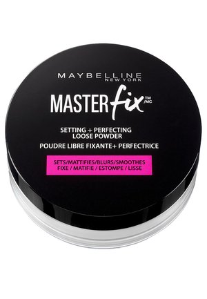 MASTER FIX PUDER - Setting spray & powder - black version