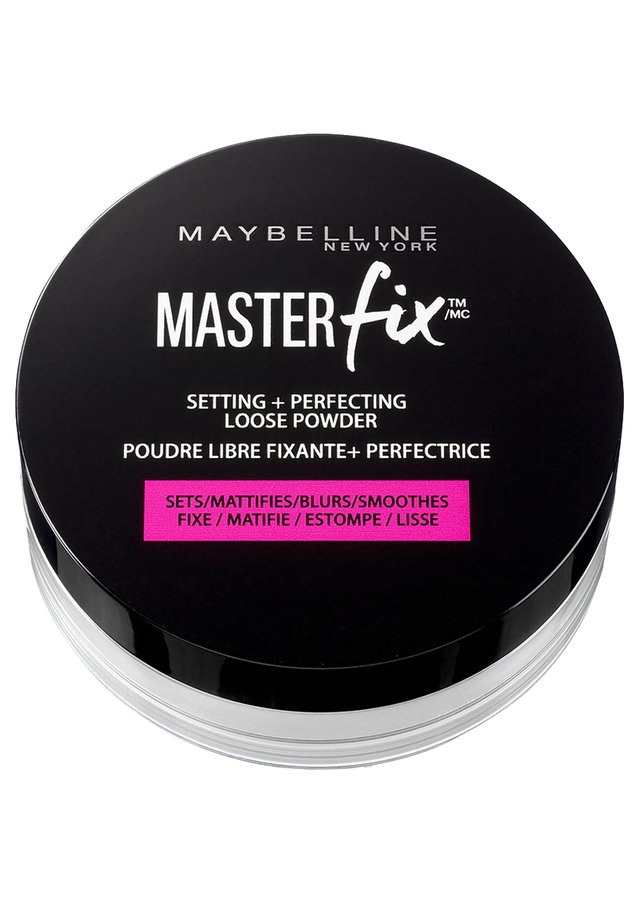 MASTER FIX PUDER - Fixeerspray & -poeder - black version