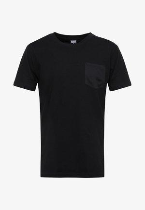 POCKET TEE - T-shirt basic - black